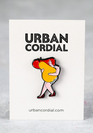 Cordial Character Pin Badges: Wilma